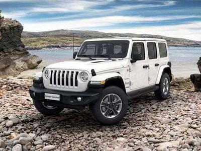 usata Jeep Wrangler Unlimited Wrangler Unl.JL 2.2 Mjet II 200CV Sahara 4WD A8