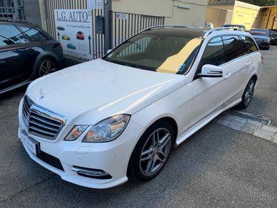 usata Mercedes E350 S.W. BlueTEC 4Matic Avangard