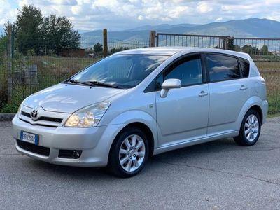 usata Toyota Corolla Verso 2.2 16V D-4D Sol UNICO PROPRIETARIO 7 posti