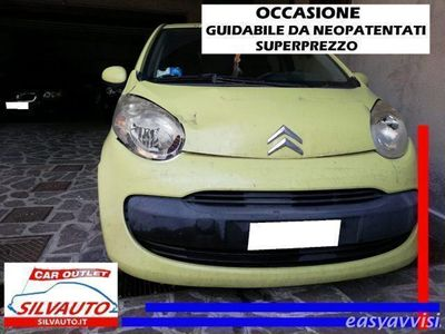 usata Citroën C1 1.0 5 porte c1ty 68cv benzina