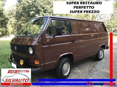 brugt VW T3 furgone lusso gpl - gancio traino -super restauro benzina/gpl