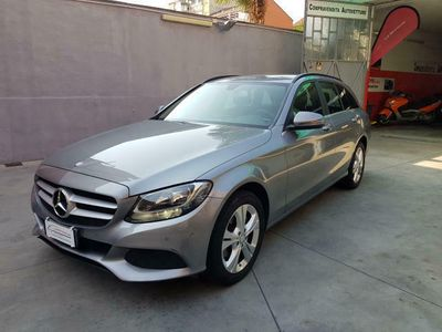 used Mercedes C220 d S.W. C. Automatico Business km. 63.000 uniprop.