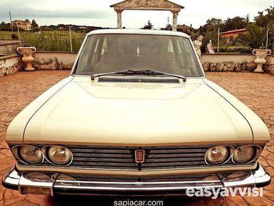 brugt Fiat 130 3.2 manuale ultima serie targhe nere benzina