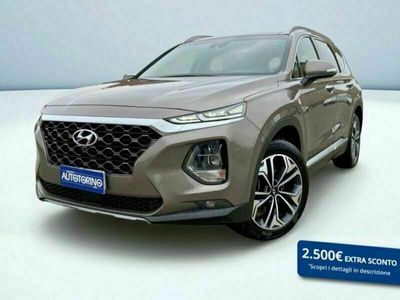 usata Hyundai Santa Fe 2.2 crdi Xprime Safety Pack 4wd 7p.ti aut