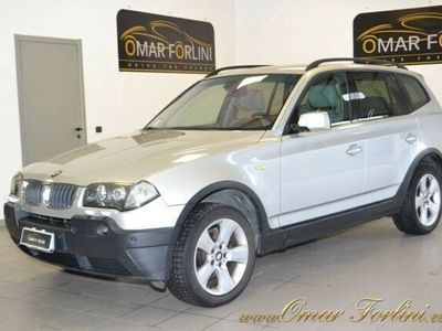 "usata BMW X3 2.0d FUTURA 150CV DOP.TETTO PELLE 19""FULLKM139.000"