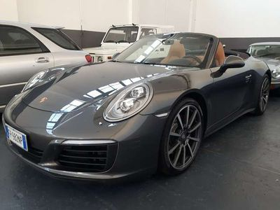 usata Porsche 991 3.0 420cv 4S Cabrio UNICO PROPRIETARIO