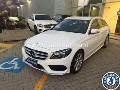 brugt Mercedes E250 CLASSE C SW C SW d (BT) Premium auto