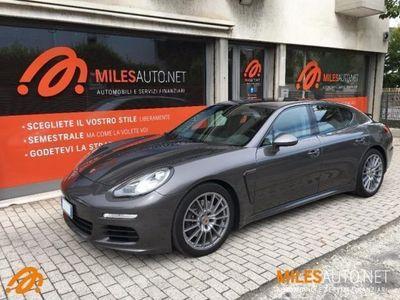 """usata Porsche Panamera 3.0 Diesel MY2015 PASM 20"""" garanzia 36m 300HP"""