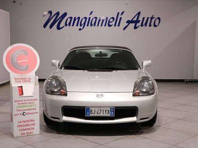 usata Toyota MR2 2 1.8i 16V Cabrio Certificazione Chilometrica