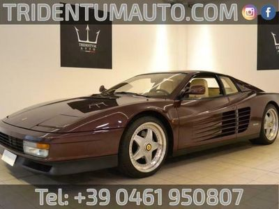 usata Ferrari Testarossa 5.0