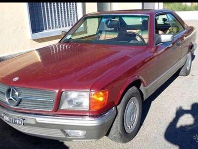 usata Mercedes 380 SEC anno 1984