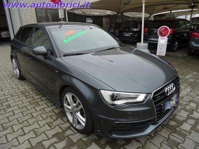usata Audi A3 SPB 2.0 TDI 184 CV QUATTRO S-TRONIC S-LINE