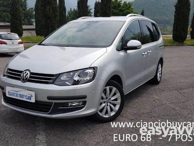 brugt VW Sharan 2.0 TDI 184 CV SCR DSG Highline BlueMotion Tech.