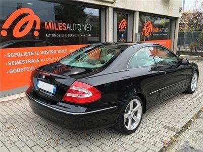 usata Mercedes CLK240 Classe Coupè Cat Elegance Pelle Navi Cruise Tagliandi Ufficiali Usato