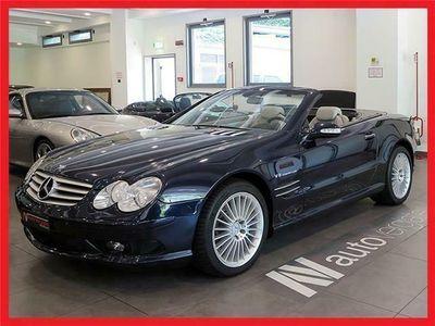 usata Mercedes SL55 AMG AMG Kompressor ** FULL OPTIONAL - BLU TANSANITE **