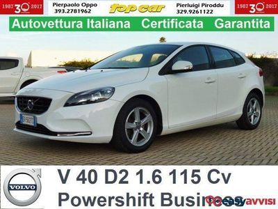brugt Volvo V40 d2 1.6 powershift camb. automatico! diesel