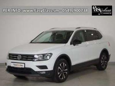 usata VW Tiguan Allspace 2.0 TDI IQ.DRIVE NAVI GANCIO 7 POSTI COCKPIT Diesel
