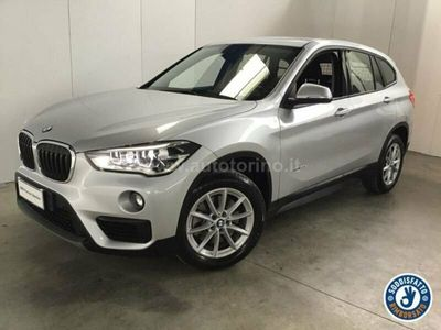usata BMW X1 xDrive20d Advantage del 2016 usata a Olgiate Olona