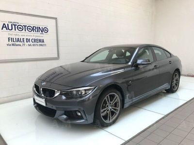 usata BMW 435 Serie 4 Gran Coupé d xDrive Msport del 2017 usata a Crema