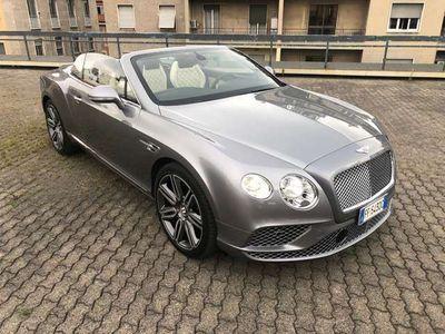usata Bentley Continental GTC V8 CABRIOLET MULLINER Tagliandata in garanzia