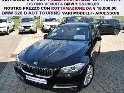 usata BMW 520 Serie D AUT SW VARIE DIRIGENZIALI UFF
