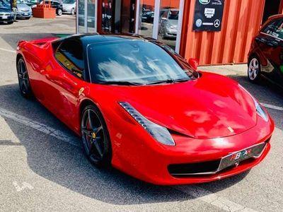 usata Ferrari 458 Italia DCT/RATE/PERMUTE/TAGLIANDI