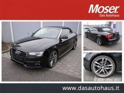brugt Audi Cabriolet 3.0 TDI DPF S-LINE SPORTPAKET & SELECT