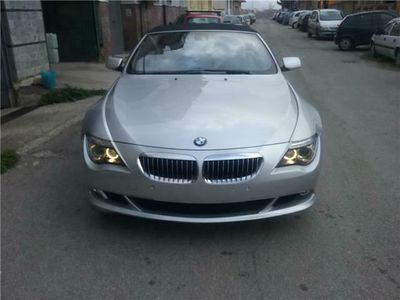 usata BMW 650 Cabriolet i 5.0 v 10 367 cv UFFICIALE