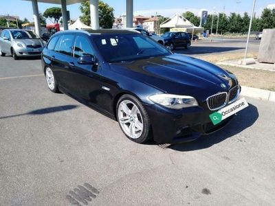 begagnad BMW 520 d Touring M sport pelle navi bixeno automatico