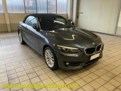 usata BMW 220 Serie 2 Cabrio(F23) i Cabrio Advantage aut.