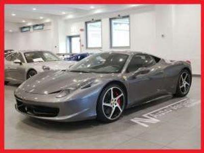 usata Ferrari 458 Italia DCT *GRIGIO SILVERSTONE - TAGLIANDATA* Benzina