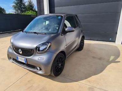 usata Smart ForTwo Cabrio EQ passion GRIGIO OPACO