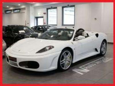 usata Ferrari F430 Spider F1 *FRENI CARBO - BIANCO AVUS* Benzina