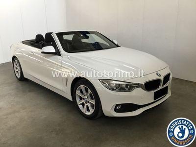 brugt BMW 420 SERIE 4 CABRIO d cabrio Modern 184cv auto