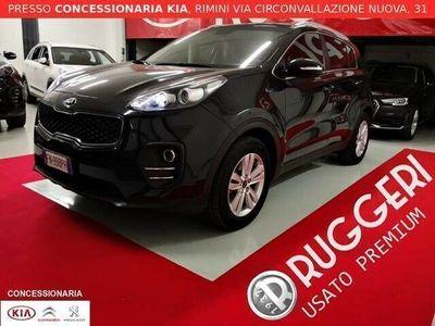 usata Kia Sportage 1.7 crdi 2wd business class sensori clima autom