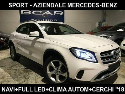 """usata Mercedes GLA180 d Sport +Navigatore +""""18+Sedili Premium Clima AU"""