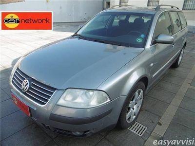 usata VW Passat variant 1.9 tdi/130cv var. 4m. c.line diesel station wagon grigio chiaro
