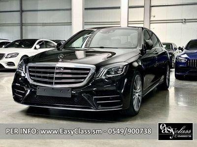 "usata Mercedes S400 d 4Matic LONG AMG LED TETTO PELLE 20"""