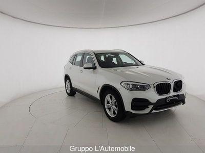 usata BMW X3 G01 xdrive20d Business Advantage 190cv auto