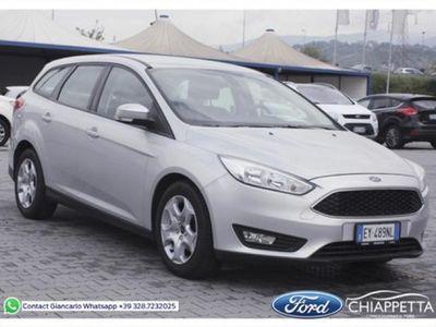 usata Ford Focus 1.6 TDCi (90CV) 5p. Ikon del 2015 usata a Rende