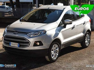 brugt Ford Ecosport 1.5 tdci Plus 95cv E6