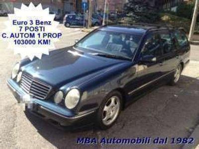 usata Mercedes E240 2.6 v6 sw avant 7 posti autom 1prop 103000km!! benzina