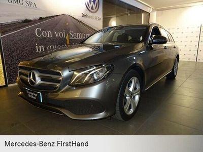 usata Mercedes E220 S.W. 4Matic Auto Business FH