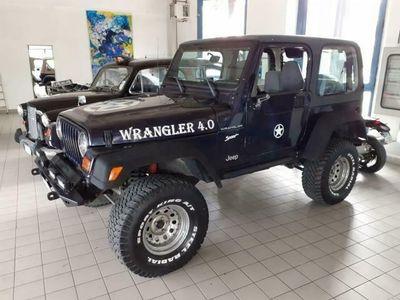 usata Jeep Wrangler 4.0 cat Hard top (EU)