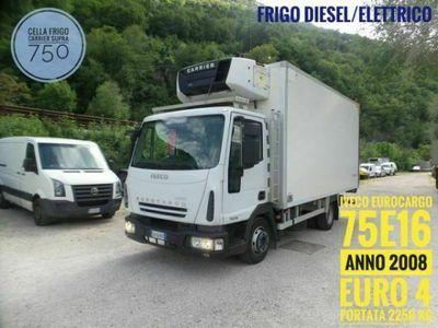 usata Iveco Massif (2008-2011) EUROCARGO 75E16 con cella frigo