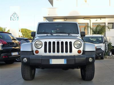 used Jeep Wrangler Unlimited 2.8 CRD DPF Sahara