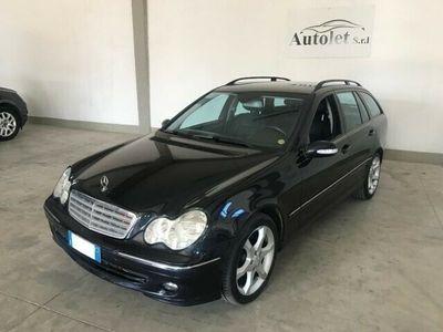 usata Mercedes C220 CDI cat S.W. Elegance Sport - pelle nera