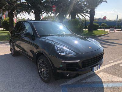 usata Porsche Cayenne diesel platinum edition bose pasm