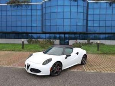 usata Alfa Romeo 4C 1750 TBi Spider CARBON PELLE ROSSA Benzina