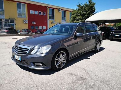 usata Mercedes E350 CDI S.W. BlueEFF. Avantgarde ***AUT***NAVI***XENO
